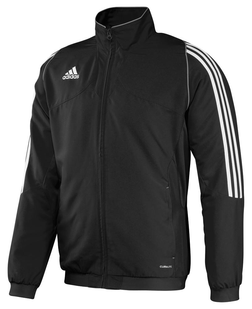 adidas Anzug T12 schwarz weiß Gr. 10 (XL) (schmal geschnitten)
